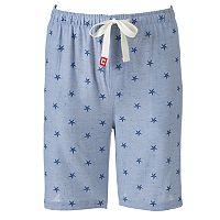 Men's Chaps Woven Jams Shorts