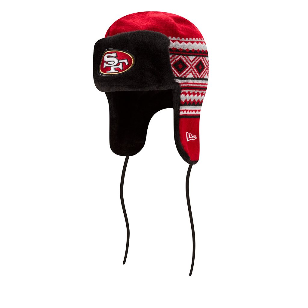 Adult New Era San Francisco 49ers Trapper Hat