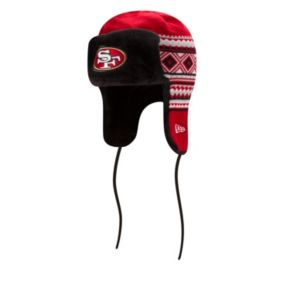 Adult New Era San Francisco 49ers Trapper Hat