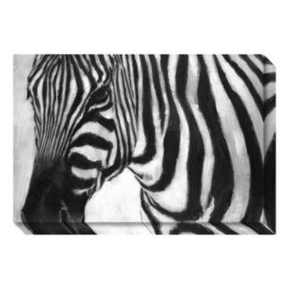 Amanti Art Zebra Canvas Wall Art