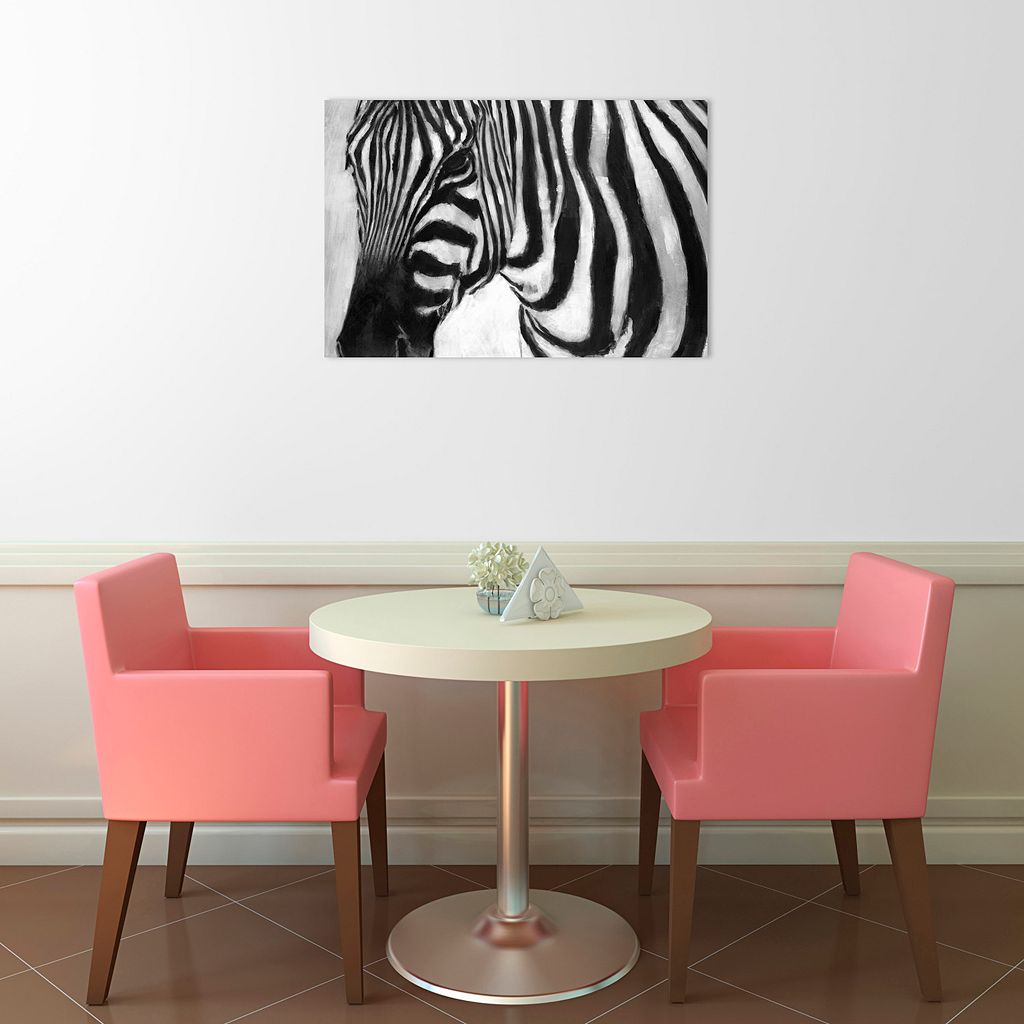 Amanti Art Zebra Canvas Wall Art
