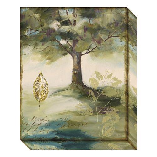Amanti Art Hopes & Greens IV: Tree Canvas Wall Art