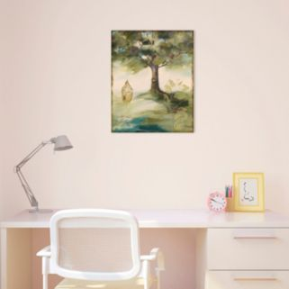 Amanti Art Hopes & Greens IV: Tree Canvas Wall Art