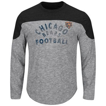 Big & Tall Majestic Chicago Bears Football Tee