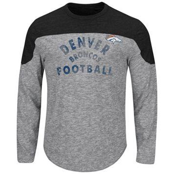 Big & Tall Majestic Denver Broncos Football Tee
