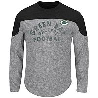 Big & Tall Majestic Green Bay Packers Football Tee