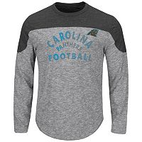 Big & Tall Majestic Carolina Panthers Football Tee
