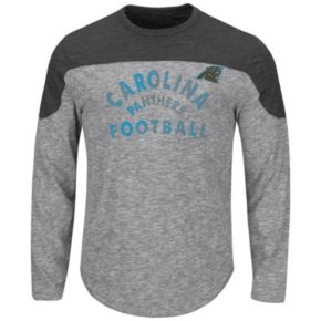 Big & Tall Majestic Carolina Panthers Football Tee