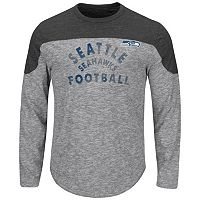 Big & Tall Majestic Seattle Seahawks Football Tee