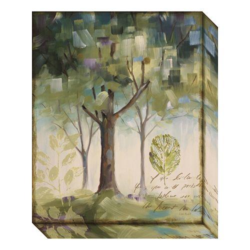 Amanti Art Hopes & Greens III: Tree Canvas Wall Art