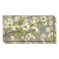 Amanti Art April Branch Magnolias Canvas Wall Art