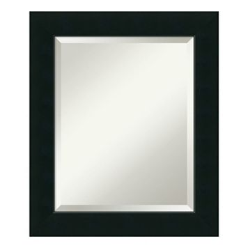 Amanti Art Corvino Black Medium Wall Mirror