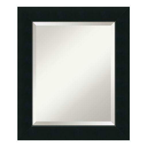 Amanti Art Corvino Black Medium Wall Mirror