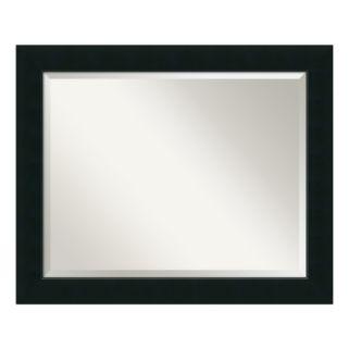 Amanti Art Corvino Black Large Wall Mirror
