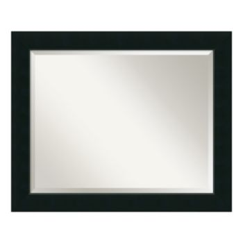 Amanti Art Corvino Black Large Wall Mirror
