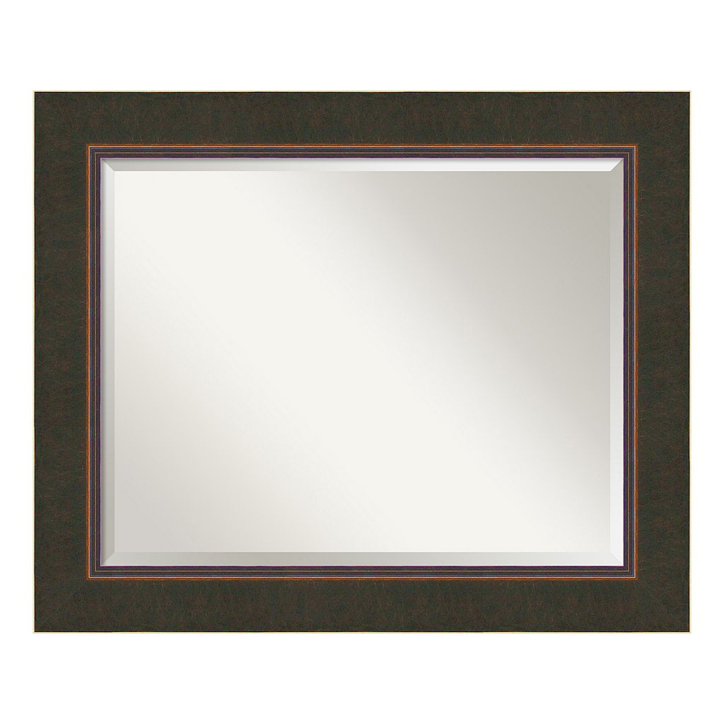 Amanti Art Milano Espresso Large Wall Mirror