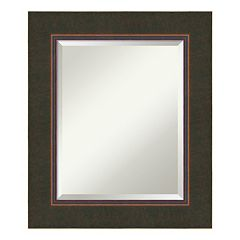 Amanti Art Milano Espresso Medium Wall Mirror