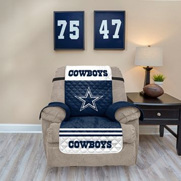 Dallas Cowboys Quilted Recliner Chair Cover