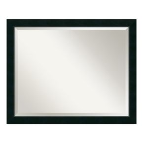 Amanti Art Nero Black Large Wall Mirror