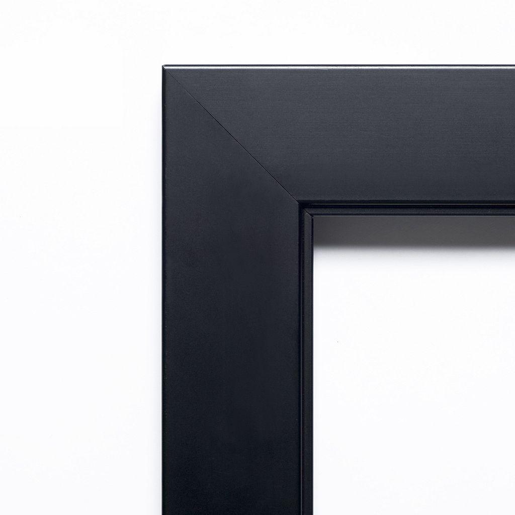 Amanti Art Nero Black Large Wall Mirror