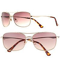 Men's Apt. 9® Gold Aviator Sunglasses