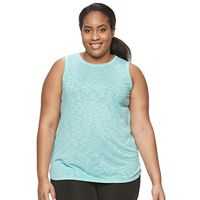 Plus Size Tek Gear® Easy Fit High-Low Tank