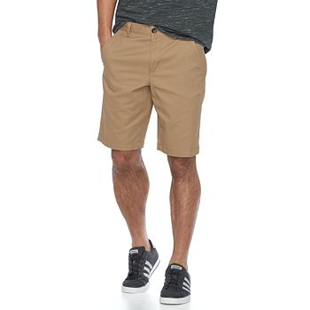 Urban Pipeline Mens Flat-Front Twill Shorts
