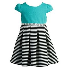 Girls 4-6x Youngland Stripe Pleated Dress