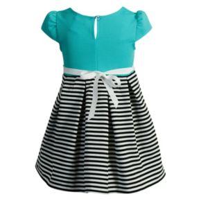 Girls 4-6x Youngland Stripe Pleated Dress