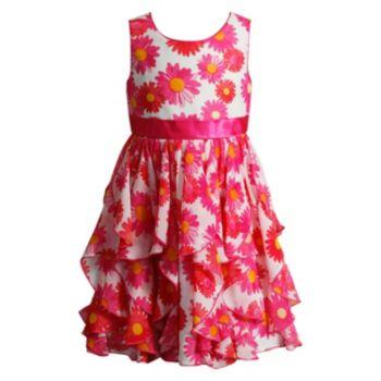 Girls 4-6x Youngland Sleeveless Tiered Daisy Dress