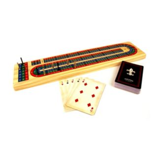 Solid Wood Cribbage Set by Front Porch Classics