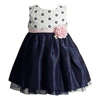 Toddler Girl Youngland Woven Flower Bodice Occasion Dress