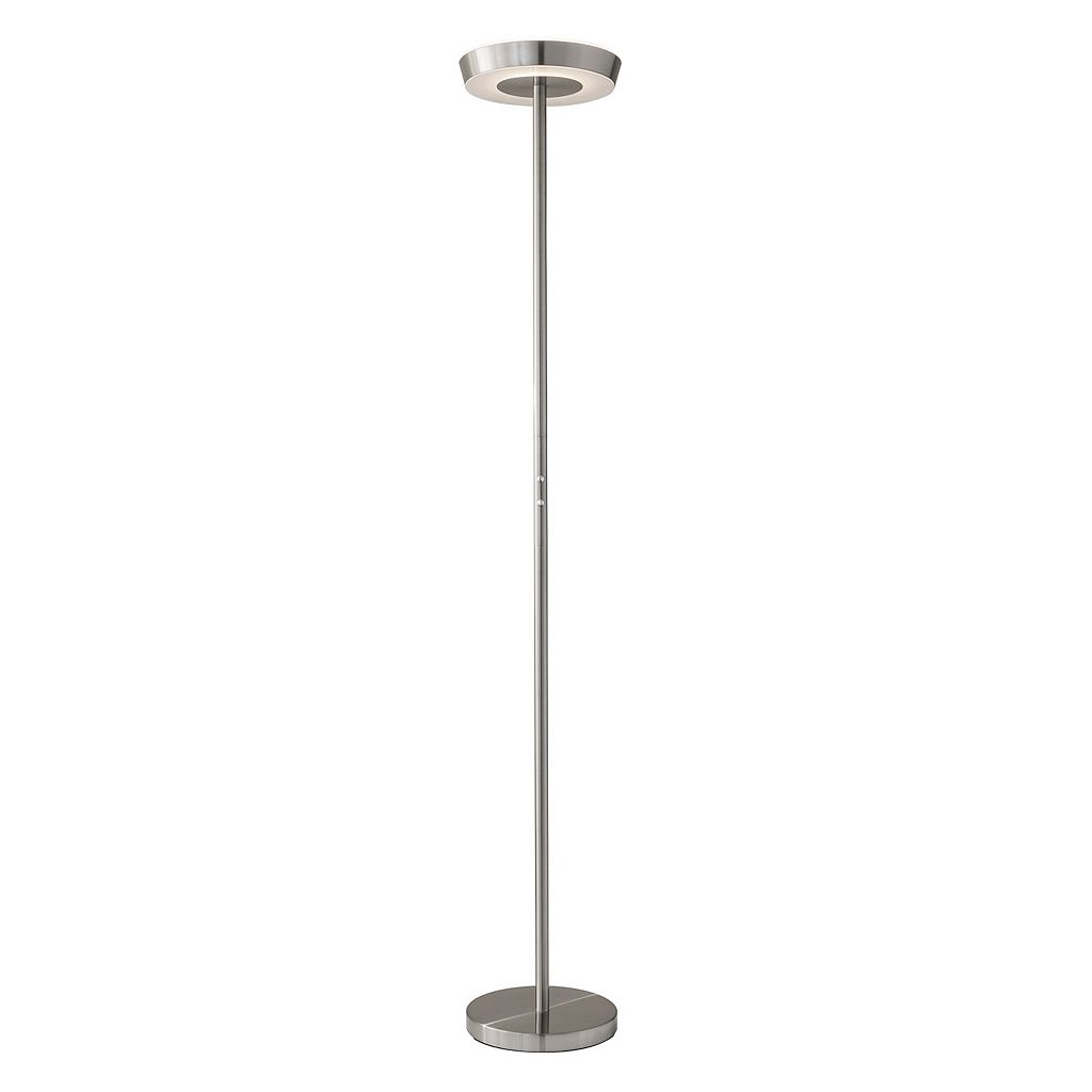 Adesso Halo LED Torchiere Floor Lamp