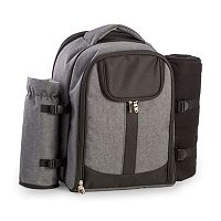 Men's Bey-Berk Canvas Picnic Backpack