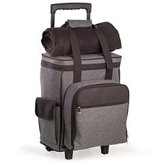 Men's Bey-Berk Canvas Picnic Trolley