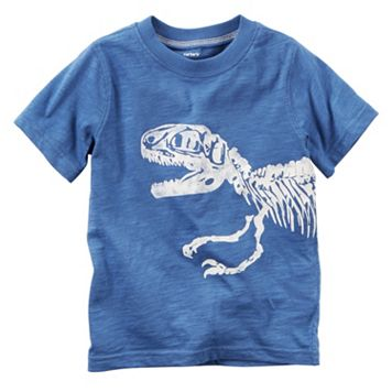 Boys 4-8 Carter's Dinosaur Skeleton Graphic Tee