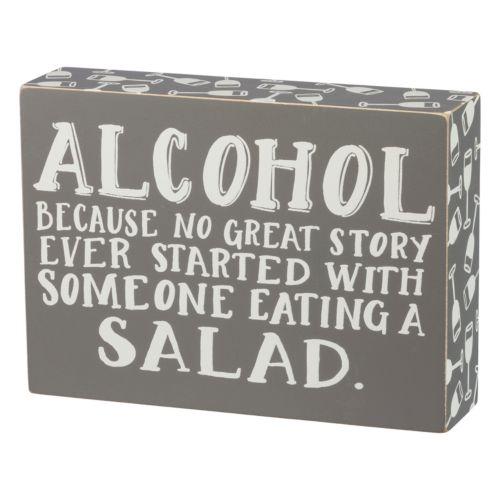 Great Story Box Sign Art