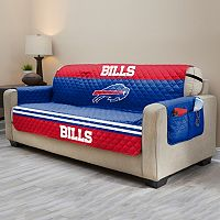 Buffalo Bills Quilted Sofa Cover