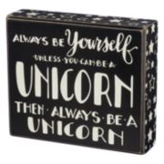 """Unicorn"" Box Sign Art"