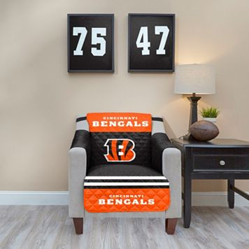 Cincinnati Bengals Quilted Chair Cover