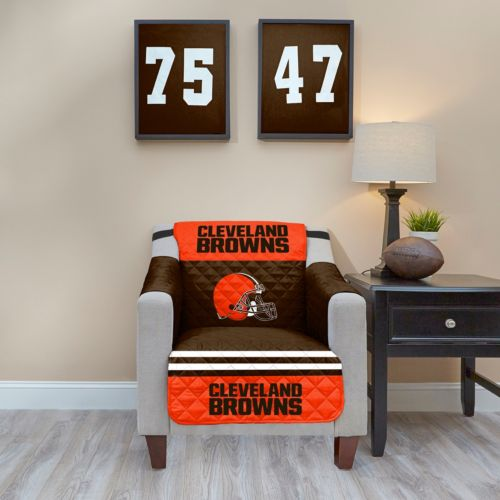 Cleveland Browns Quilted Chair Cover