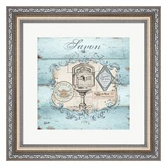 Metaverse Art Rustic French Bath I Framed Wall Art