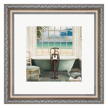 Metaverse Art Oceanview I Framed Wall Art