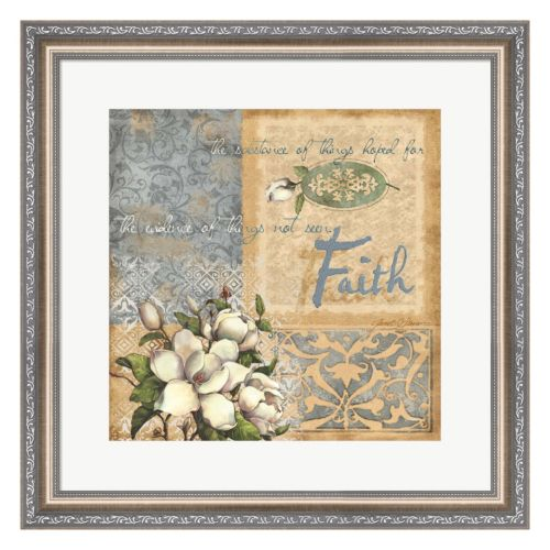 Metaverse Art Faith Framed Wall Art