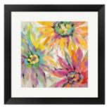 Metaverse Art Abstracted Petals I Framed Wall Art