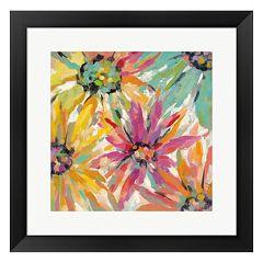 Metaverse Art Abstracted Petals II Framed Wall Art