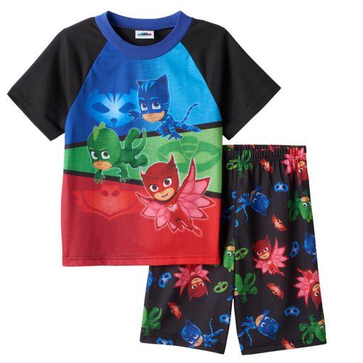 Boys 4-8 PJ Masks 2-Piece Pajama Set