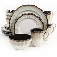 Gibson Elite Mableton 16 pc Dinnerware Set