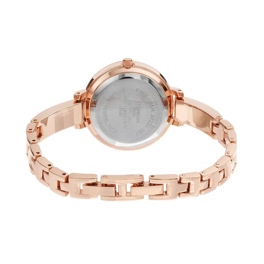 Folio Women's Crystal Swirl Watch