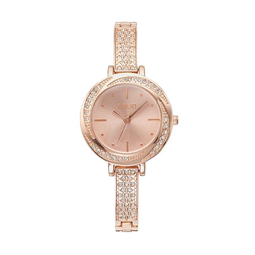 Folio Women's Crystal Swirl Watch